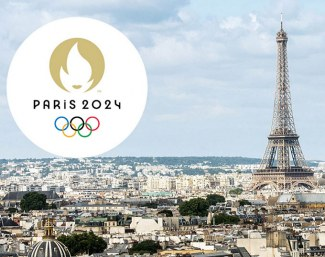 Logo of the 2024 Olympic Games in Paris