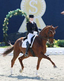 Maria Anita Andersen and Rebelle at the 2013 CDI Hagen :: Photo © Astrid Appels