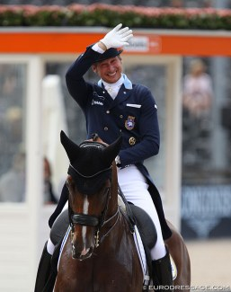 Pätrik Kittel at the 2019 European Dressage Championships :: Photo © Astrid Appels