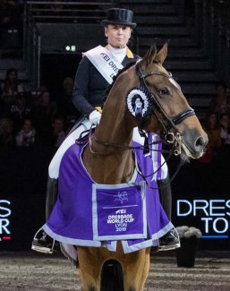 Isabell Werth and Emilio win the 2019 CDI-W Lyon