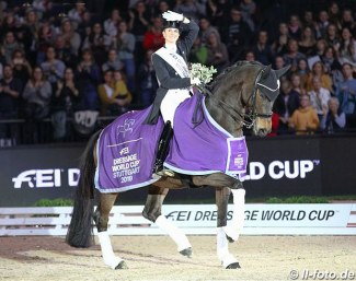 Jessica von Bredow-Werndl and Unee BB at the 2019 CDI-W Stuttgart :: Photo © LL-foto