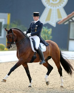 Hubertus Schmidt and Florenciano at the 2014 CDI Hagen :: Photo © Astrid Appels