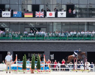 The Tokyo Olympic Equestrian Park where a test event was staged in the summer of 2019 :: Photo © FEI