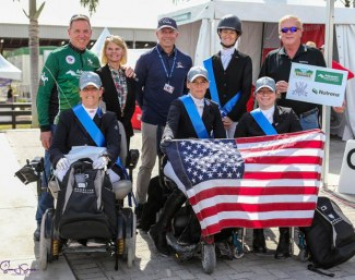 Para Team USA Remains #1 after Second 2020 CPEDI Wellington