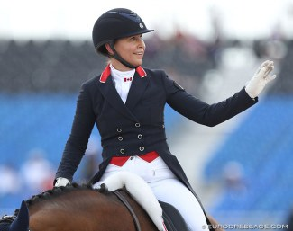 Jill Irving at the 2018 World Equestrian Games :: Photo © Astrid Appels
