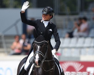 Marlies van Baalen and Go Legend at the 2019 CDIO Aachen :: Photo © Astrid Appels