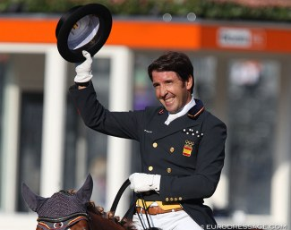 Claudio Castilla Ruiz at the 2019 European Dressage Championships :: Photo © Astrid Appels