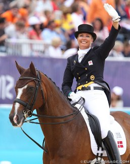 Anne van Olst and Clearwater at the 2012 Olympic Games in London :: Photo © Astrid Appels