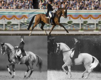 Heroes of the past, achieving the ideal standards of dressage