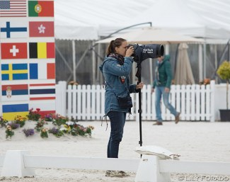 Astrid Appels working at the 2019 CDIO Compiegne :: Photo © Lily Forado