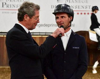 Phlipp Hess, a highly liked guest judge rider in Germany and Holland :: Photo © VWF