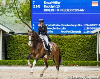 Competition at the Mariakalnok Dressage Center in 2019 :: Photo © Lukasz Kowalski