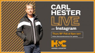 Carl Hester Live on Instagram tonight or watch the In the Frame interview on Horse & Country TV