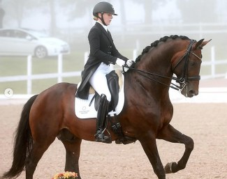 Sofie Lexner and Fame :: Photo © Christinelund Dressage